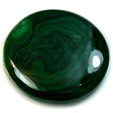 95Ct Natural Top Grade Malachite (34mm) Cabochon