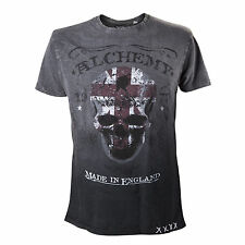 Alchemy England - Alchemy T-Shirt The Pact Label black Shirt Skull Rock Metal Go