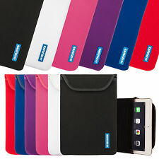 Caseflex Neoprene Pouch Tablet Case Cover Sleeve for Apple iPad Models All Sizes