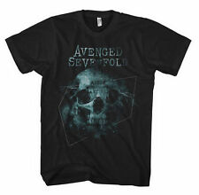 Avenged Sevenfold T Shirt Galaxy Official Black Mens Tee A7X Metal Rock
