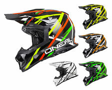 Oneal 2Series EVO Casco cross THUNDERSTRUCK MX Casco Motocross