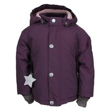 MINI A TURE Wally Mädchen Winter Jacke Parka FLEECE INSIDE blackberry wine
