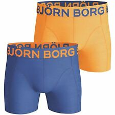 2 Pairs of Bjorn Borg Short Shorts ~ Neon Solids