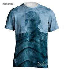 Official T Shirt GAME OF THRONES White Walker Night King Sublimation All Sizes