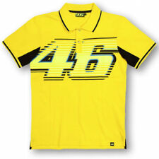 Official MotoGP Motorcycle Motorbike Valentino Rossi VR46 Polo Shirt - Yellow