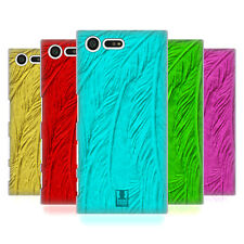 HEAD CASE DESIGNS FEATHERS 2 HARD BACK CASE FOR SONY XPERIA X COMPACT