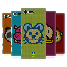 HEAD CASE DESIGNS CROSS STITCHED HARD BACK CASE FOR SONY XPERIA X COMPACT