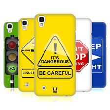 HEAD CASE DESIGNS LIFE SIGNALS HARD BACK CASE FOR LG X POWER