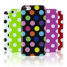 Custodia in Silicone Apple iPhone 5c Polkadot