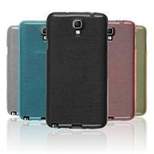 Custodia in Silicone Samsung Galaxy Note 3 Neo brushed