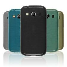 Custodia in Silicone Samsung Galaxy Ace 4 brushed
