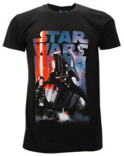 T-shirt Star Wars Dart Fener nera