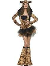 Costume Carnevale Donna Animale Tigre Tutu' Dress Smiffys 29495 PS 17524
