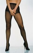 CROTCHLESS OPEN CROTCH SEXY 15 DENIER SHEER BLACK TIGHTS FROM PAMELA MANN