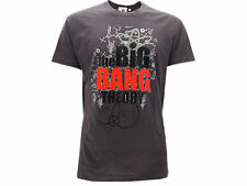 Camiseta The Big Bang Theory Logo Gris