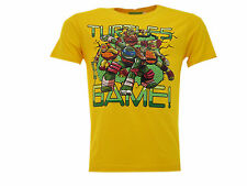 "Camiseta Tortugas Ninja Mutante Adolescentes ""Turtles Got Game!"" Amarillo"