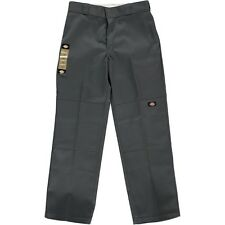 Dickies Loose Fit Double Knee Work Pants Charcoal Grey