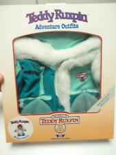 1985 1st Gen TEDDY RUXPIN Outfit NEW! Winter Outfit (b)