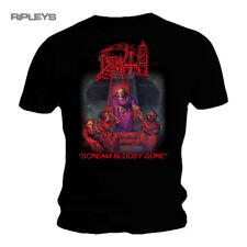 Official T Shirt DEATH Black Death Metal SCREAM Bloody Gore All Sizes