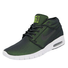 Nike SB STEFAN JANOSKI MAX MID Chaussures Mode Sneakers Homme Noir Vert