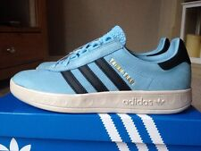 Retro Adidas Trimm Trab Argy Blue Deadstock  80s Football Casuals Size 8