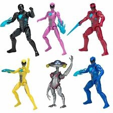Power Rangers Movie Action Hero Blue, Yellow, Pink, Alpha 5, Black, Red Figure