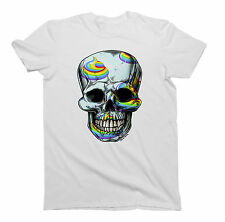 Mens/Ladies T-Shirt UNICORN Poo SKULL Funny Unisex Birthday Gift by Buzz Shirts