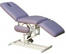 Therapy table electric, Lie, Patient chair Massage, Cosmetic bed, light grey
