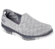 NEU SKECHERS Damen Fitness Sneakers Slipper Loafer Walking GO FLEX AGILITY Grau