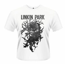 Linkin Park T Shirt Antlers Official Mens White Tee Hunting Party Rock Merch