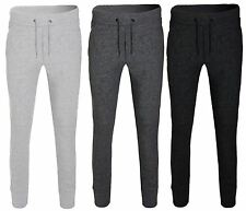 Mens Gym Joggers Slim Fit Tracksuit Bottoms Skinny Trousers Sweat Pants Jogging
