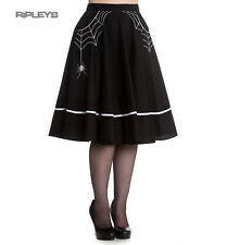 Hell Bunny Spider Webs 50s Skirt MISS MUFFET Halloween Gothic All Sizes