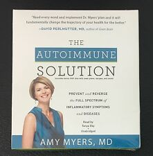 The Autoimmune Solution by Amy Myers AUDIO CD 2015 Unabridged NEW SEALED