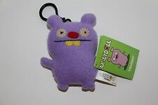 Gund UGLY DOLL KEYCHAIN TRUNKO PURPLE NEW WITH TAGS clip on PLUSH KEYCHAIN