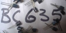 PHILIPS BC635 1A, 45V, NPN, Si, SMALL SIGNAL TRANSISTOR, TO-92