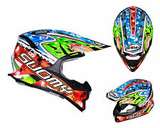 Suomy Casco da cross Alpha WARRIOR MX Motocross casco Enduro Quad Fuoristrada