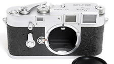 Leitz Leica M3 Double Stroke Rangefinder 35mm Camera Body Chrome