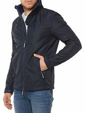 NEU SUPERDRY JACKE HERREN WINDBREAKER M50016ZOF4 MARINE BLAU NAVY BLUE MEN