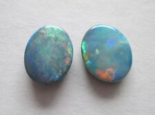 3.55 cts of Australian Opal Doublets w/ Queensland Boulder Backing # TAO 3047 A