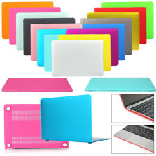 "New For Apple MacBook Air Pro Retina 11"" 12"" 13"" 15"" Hard Rubberized Case Cover"