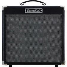 "Roland Blues Cube Hot 30W 1x12"" Guitar Combo Amplifier with Tube Tone, Black"