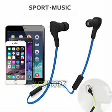 Bluetooth V4.0 Wireless Ear-Hook Headset Headphone Earphone For Smart Cell Phone