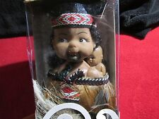 VINTAGE WAHINE INDIAN & BABY DOLL Authentically Clothed  New In Original Box
