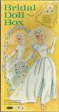 VINTAGE 1960s Bridal Box PAPER DOLLS LASER REPRODUCTION~LO PR~HI QUAL~TOP SELLER