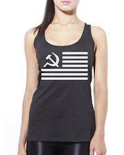 UNITED STATES OF RUSSIA AMERICA Womens Vest Tank Top