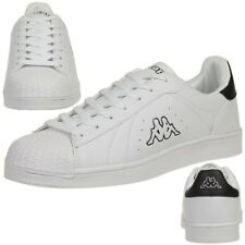 Kappa Olymp Trainers Shoes Ladies Men s Sports Shoes White Black 227ad3860bb
