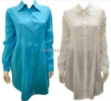 PLUS SIZE BUTTON DOWN LONG SLEEVED COLLARED ADJUSTABLE SLEEVE SHIRT 14 16 18