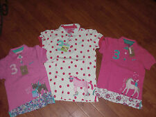 BNWT GIRLS JOULES JNR MOXIE PONY OR DOG POLO TOP SHIRT AGE 6 OR 11-12 YRS.