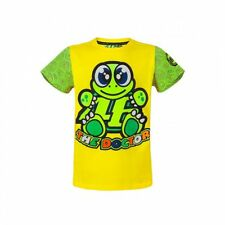 Official VR46 Valentino Rossi MotoGP 'The Doctor' Kid Turtle T-Shirt - Yellow