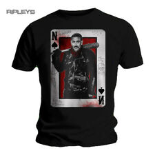Official T Shirt The Walking Dead Negan Playing CARD All Sizes